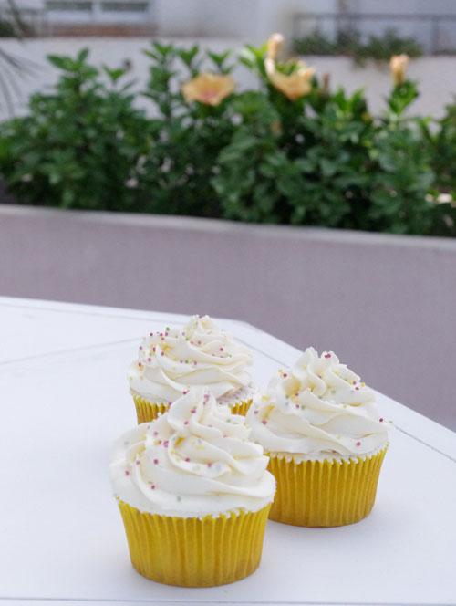 Receta de Cupcakes de limon