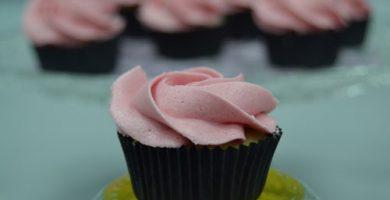 Receta cupcakes de fresas