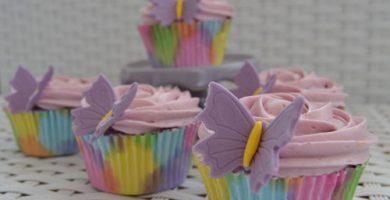 Receta de Cupcakes de Mora