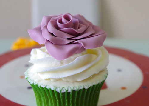 Receta de cupcakes de vainilla