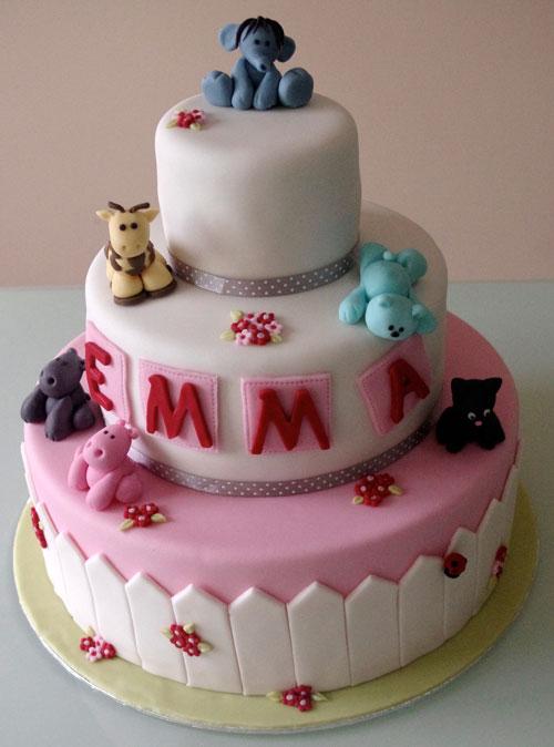 Receta Tarta fondant cumpleaños